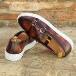 Belgian sneakers monk men